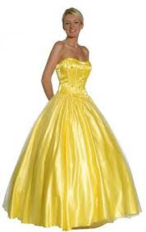 Stvetlo žlté šaty